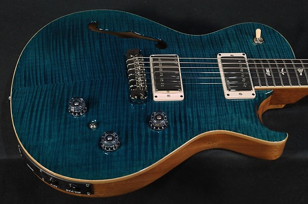paul reed smith p245 semi hollow 10 top azul reverb. Black Bedroom Furniture Sets. Home Design Ideas