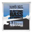 Ernie Ball Flatwound 5 String Electric Bass Strings 45-130 image