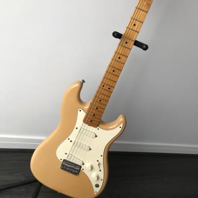 1982 Fender Bullet S-3 USA Olympic White maple neck, original case for sale
