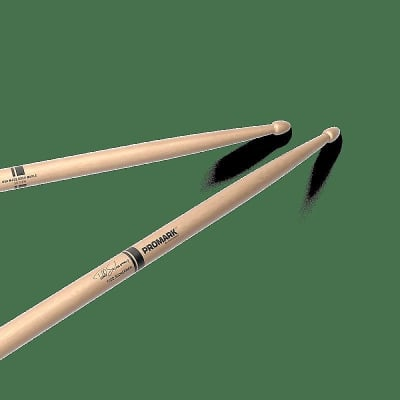 Pro-Mark SD330W Todd Sucherman Signature Maple Wood Tip (Pair) Drum Sticks w/ Video Link