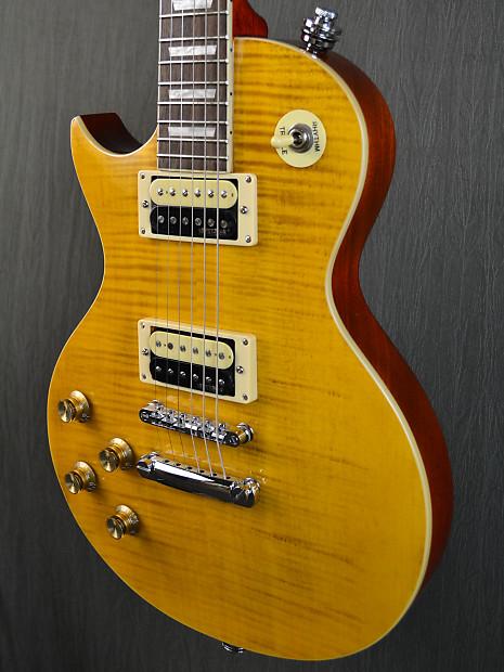 Vintage V100 Afd Paradise Left Handed 2010 Lemon Drop The Reverb