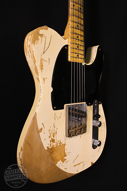 Fender Masterbuilt Jeff Beck Esquire Telecaster John Reverb