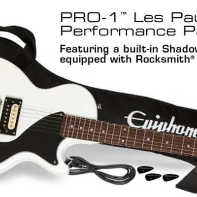 Epiphone PRO-1 Les Paul Jr. Performance Pack White for sale