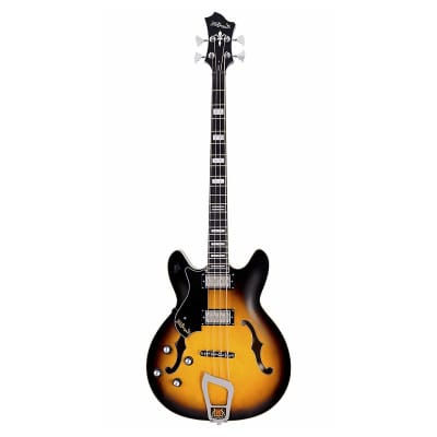 Hagstrom Viking Bass Sunburst Left handed for sale