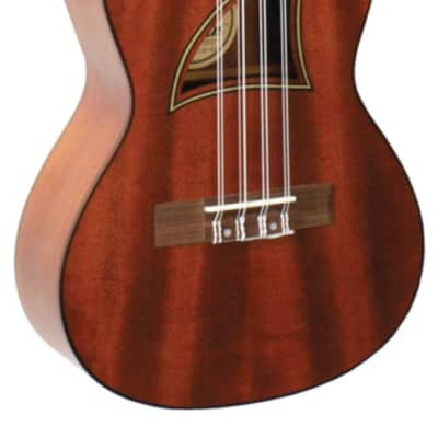 Eddy Finn EF-98T Mahogany Top & Neck 8-String Tenor Size Ukulele