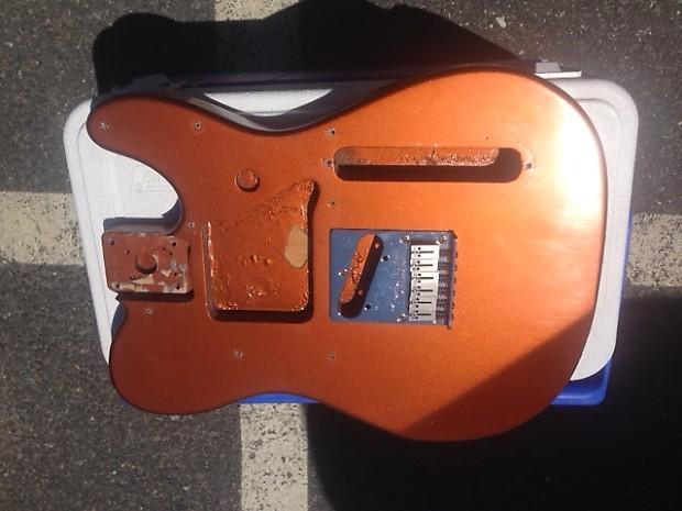Fender Telecaster Body Paint Holes