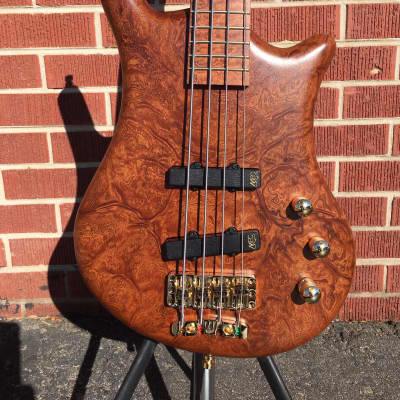 2020 NAMM Show Warwick  Pro Series Teambuilt Thumb BO LTD 2020 3/100 Natural Trans Satin w/Gig Bag for sale