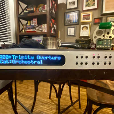 Korg Trinity TR Rack with amazing OLED display.  Includes shipping!