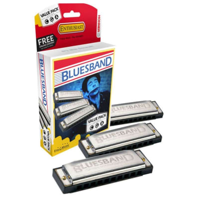 Hohner Bluesband Value Pack - C, G, A