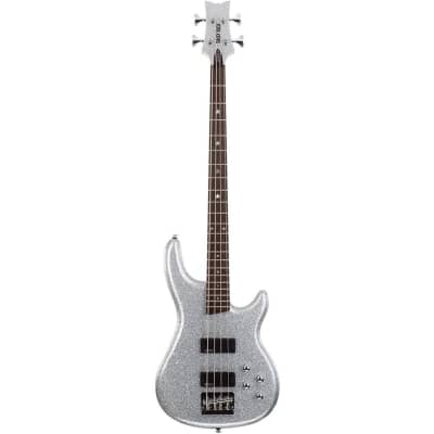Daisy Rock DR6772 Rock Candy 4-String Electric Bass Guitar, Diamond Sparkle for sale