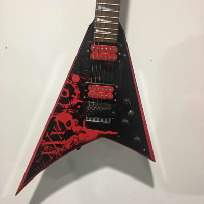 Ultra Rare Jackson RR5FR 30th Anniversary Edition Red on Black 5/30 for sale