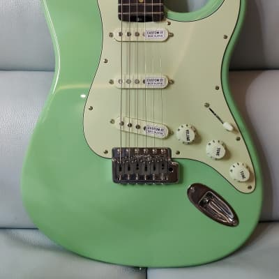 Shijie guitar STN SSS Surf Green 2021 for sale