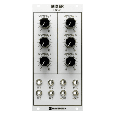 Wavefonix 6-Channel Linear Mixer