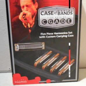 Hohner MBC Marine Band Case 5 Piece Harmonica Set Key of C G A D E