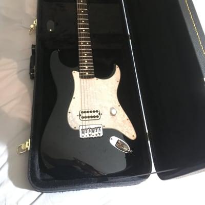 2001 Black Tom Delonge Fender Stratocaster w/ Case for sale