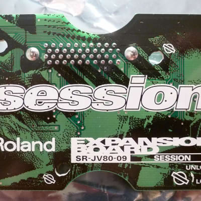 Mint! Roland srjv80 srjv-80 sr-jv-80 SR-JV80-09 JV80-9 SESSION Studio Expansion Sound Board Wave ROM