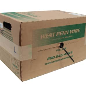 West Penn 246-GY-500 14 Gauge 4-Conductor Speaker Cable - 500'