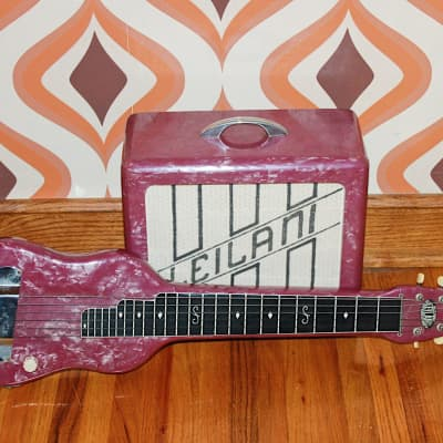 1940's Leilani Lap Steel and Matching Amp for sale