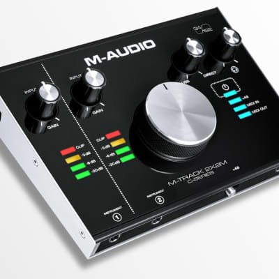 M-Audio M-Track 2x2 USB Audio Interface image