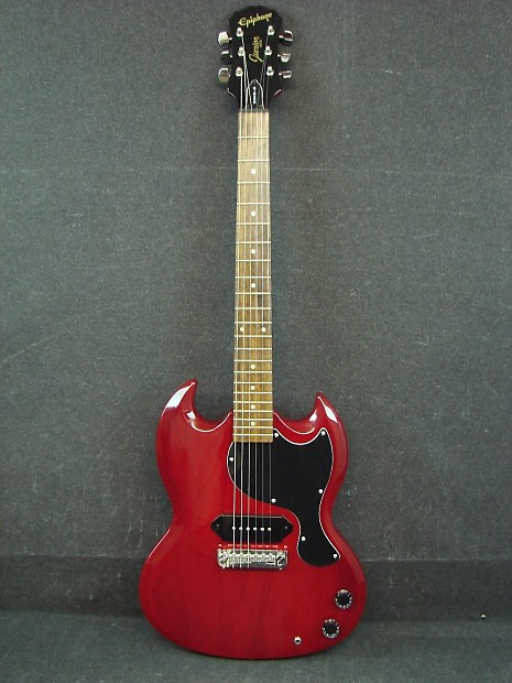 Epiphone SG Junior Red G-310 with P90 | Noise Machines