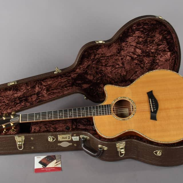 2008 Taylor K14ce KOA Acoustic Electric Guitar -SUPER CLEAN- image