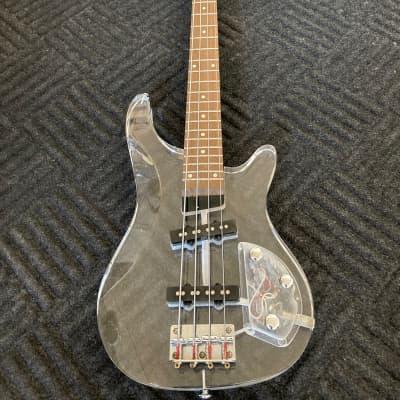 Galveston Bass 1980's clear acrylic for sale