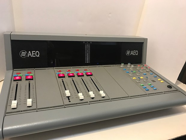 AEQ BC 300 6 Channel Broadcast Studio Audio ConsoleMixer