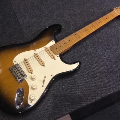 Chandler Chandler Stratocaster 1989 2 tone burst for sale