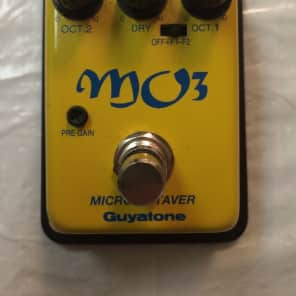 Guyatone MO-3 Micro Analog Octaver Rare Guitar Bass Effect Pedal MIJ Japan for sale