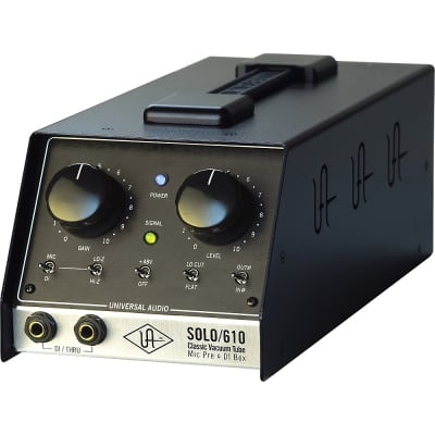 Universal Audio Solo/610 Desktop Tube Mic Preamp