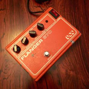 Dod 670 analog flanger pedal original vintage usa c 1979 Aaaaarnge! for sale