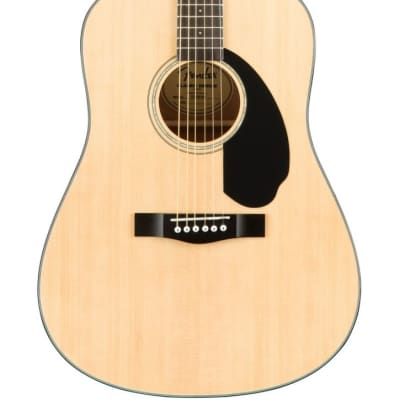 Fender CD-60S Classic Design Series Dreadnought Acoustic Guitar, Natural for sale