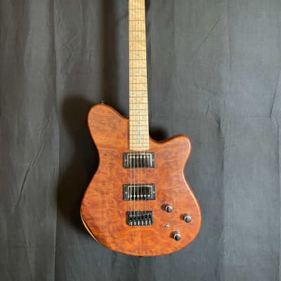 Stambaugh Master Deluxe  - Made in NH w/ NH Made Stonewall Pickups and Camphor Burl Top for sale