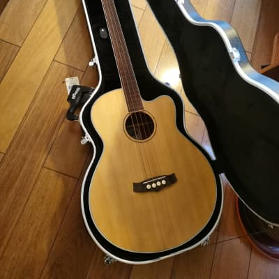 Tanglewood Discovery DBT AB FR Acoustic bass fretless With New High Quality Case for sale