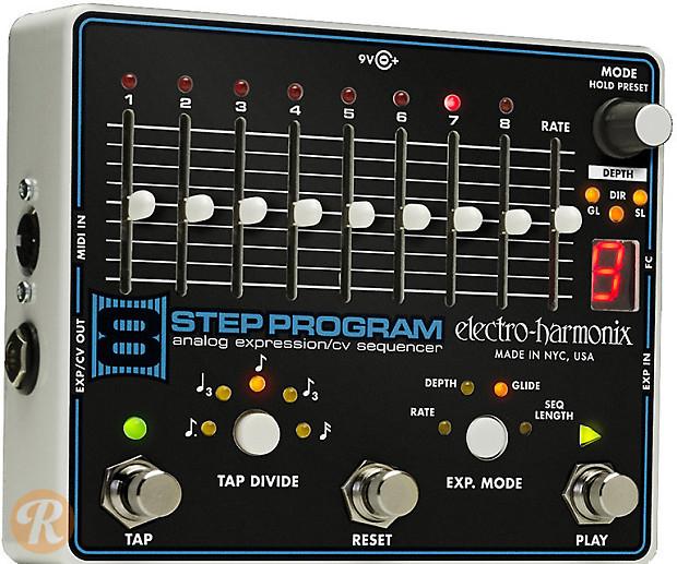 ilovefuzz.com • View topic - Electro Harmonix 8 Step Program