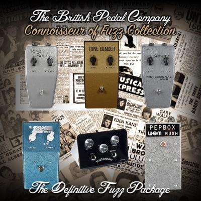 British Pedal Company Connoisseur of Fuzz Collection, Tone Bender 2018