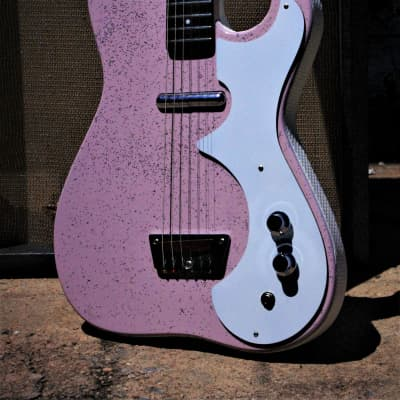 Silvertone 1448 1964 Shell Pink.  Complete restoration.  Incredibly beautiful.  Only one Plays great for sale