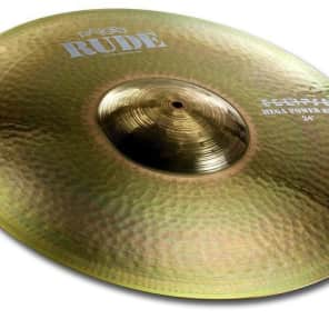 "Paiste 24"" RUDE John Dolmayan Eclipse Mega Power Ride Cymbal"