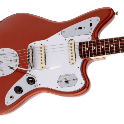 NEW! Fender Johnny Marr Signature Jaguar Knock Out Orange Finish Original Case - Authorized Dealer for sale