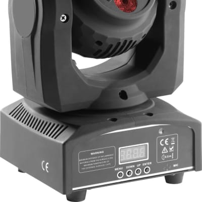 Stagg HeadBanger Spin Double-Sided Moving Head with 2 x 4 x 10-watt RGBW LED