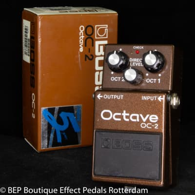 Boss OC-2 Octave Pedal 1993 s/n CE75773 as used by the great Matt Bellamy & Chris Wolstenholme