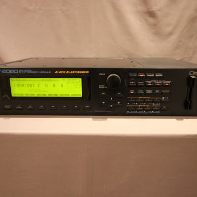 Roland JV-2080 64-Voice Synthesizer Module - Comes with 3x Sound Cards