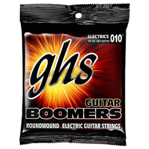 GHS GBTNT Guitar Boomers Electric Guitar Strings 10-52