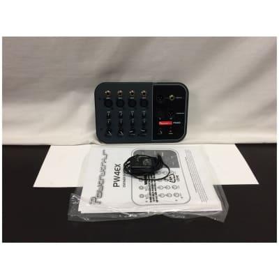 Powerwerks PW4EX 4-Channel Extension Mixer Customer Return
