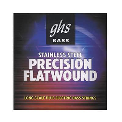 GHS Precision Flatwound Bass Long Scale Plus Medium 45-105