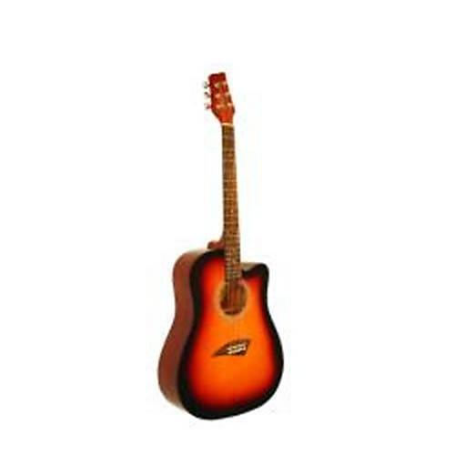 acoustic dreadnought cutaway guitar k1sb double cutaway reverb. Black Bedroom Furniture Sets. Home Design Ideas