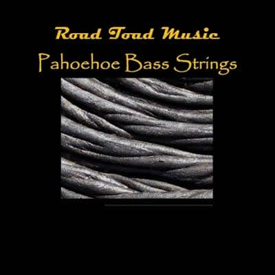 Road Toad Music - Pahoehoe Black Bass Strings - 4 string Ukulele Bass Set - closeout!