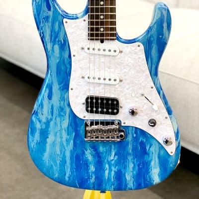 James Tyler USA Studio Elite HD Music Force Limited Edition Blue Force Shmear Semi-Gloss #19 of 25