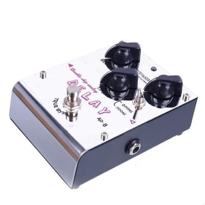 Biyang ToneFancier Series Double Chip Analog Delay Effect Guitar Pedal AD-8 True Bypas with gold ped