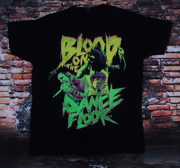 Blood On The Dance Floor Band T Shirt Medium